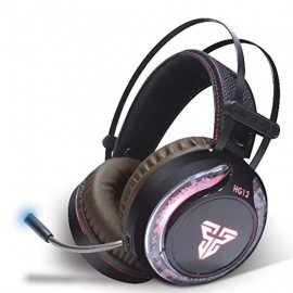 Fantech HG-12 Gaming Headset   Surround Sound System   Stereo LED Headphones With Mic   CVC noise reduction