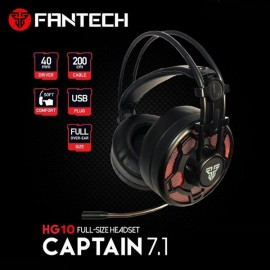 Fantech HG10 CAPTAIN 7.1 Gaming Headset | Deep and Clear Sound | 2.2m Cord