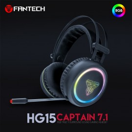 Fantech HG15 Captain 7.1 Stereo Gaming Headset | Noise Cancelling MIC | Virtual Surround Sound