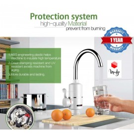 Nudge Instant Electric Water Heater Faucet Tap