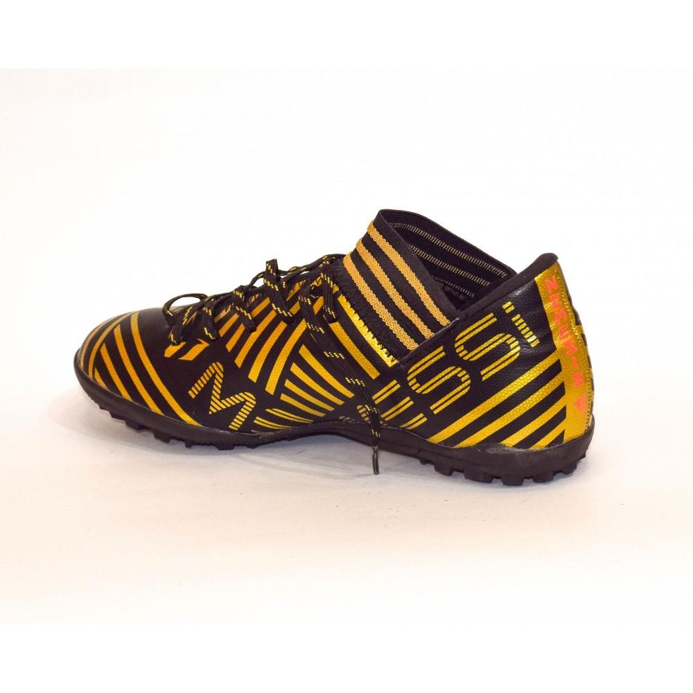Black Adidas Messi Futsal Shoes