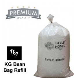 Nudge White Style Homez Bean Bags Standard Refill