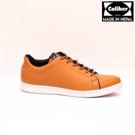 Caliber Shoes Tan Brown Casual Lace Up Shoes For Men - 546 C