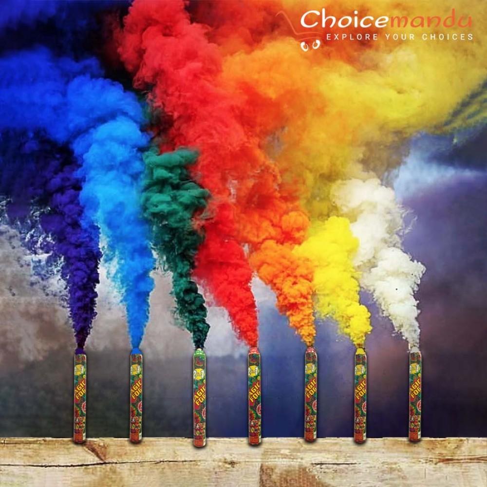 Colour Smoke Bomb Colour Fog Colour Smoke Stick In Nepal