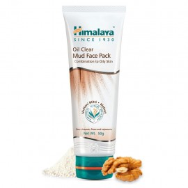 Himalaya Oil Clear Mud Face Pack - 100gm