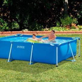 Intex Metal Frame Rectangular Pool Without Filter Pump